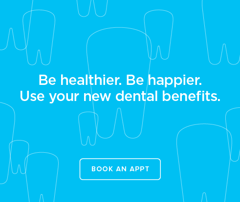 Be Heathier, Be Happier. Use your new dental benefits. - Dentists of Metairie